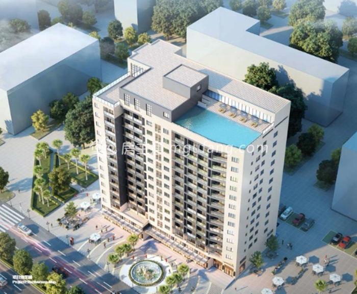 新东方国际公寓效果图